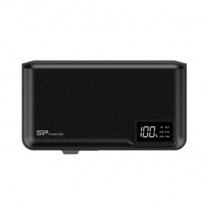 Silicon Power S103 Power Bank 10000mAH, microUSB, USB, LCD, Black