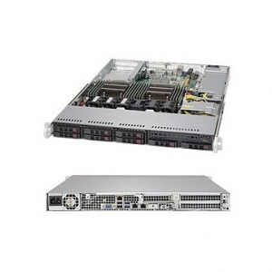 Supermicro SuperServer SYS-1028R-TDW, 1U, Data Center Optimized, Dual SKT, Intel C612 Chipset, SATA-III, 8x2.5