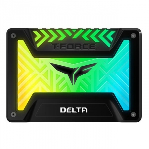 Team Group SSD T-Force Delta RGB 500GB 2.5--, SATA III, 560/500 MB/s, Black