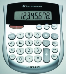 Calculator de birou Texas Instruments TI-1795 SV