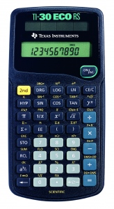 TEXAS INSTRUMENTS CALC.STIINTIFIC TI-30RS eco, 10 digiti