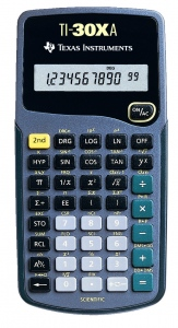 Calculator stiintific Texas Instruments TI-30XA TI002384