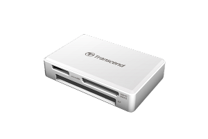 Card Reader Transcend All-in-1 Multi Memory, USB 3.0/3.1 Gen 1, White