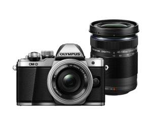 Olympus E-M10 Mark II Double Zoom kit silver