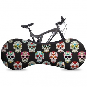 VELOSOCK Indoor bike cover Skulls