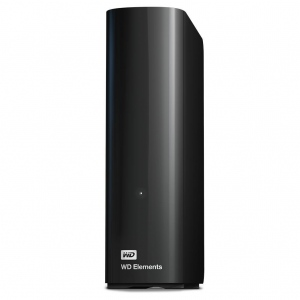 HDD Extern Western Digital Elements WDBWLG0080HBK-EESN 8TB USB 3.0 3.5 Inch