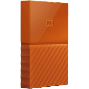 "HDD External WD My Passport (2.5"", 2TB, USB 3.0) Orange"
