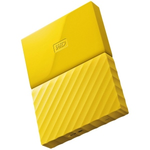 "HDD External WD My Passport (2.5"", 2TB, USB 3.0) Yellow"