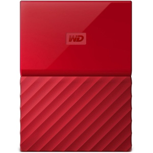 "HDD External WD My Passport (2.5"", 3TB, USB 3.0) Red"