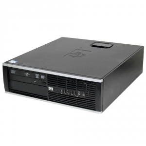 Green PC SFF HP Compaq 8200 DC I3-2100 4GB 250GB DVD-RW W7P ML 64b After Lease