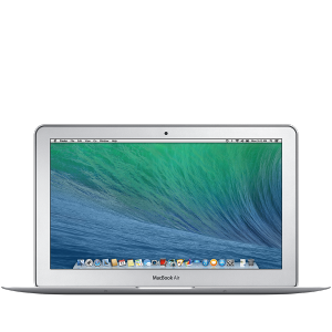 Laptop MacBook Air Intel Dual-Core Core i7 8GB DDR3 128GB HDD Intel HD Graphics 5000 Silver